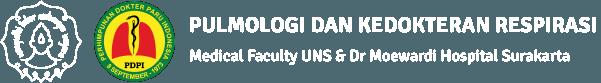 Pulmonologi dan Kedokteran Respirasi – Fakultas Kedokteran UNS & Rumah Sakit Dr Moewardi Surakarta